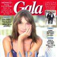 "Natasha St-Pier dans ""Gala"", en kiosques le 1er août 2018."
