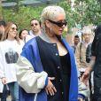 """Christina Aguilera à New York après son concert dans le """"Today Show"""" le 15 juin 2018."""