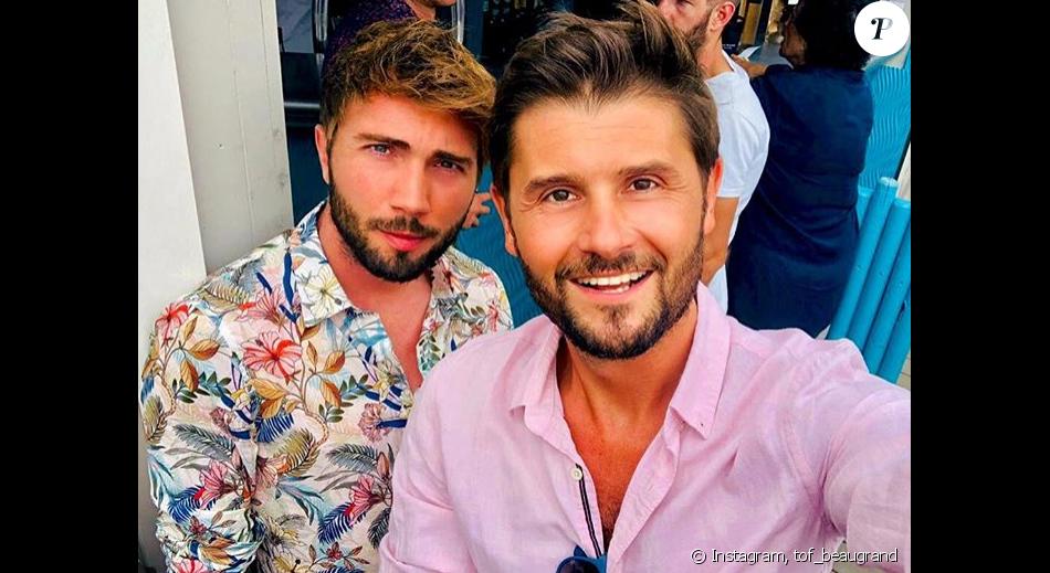 Christophe Beaugrand et son époux Ghislain en vacances à Saint,Tropez ,  Instagram, 3