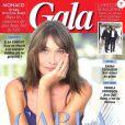 """Couverture du nouveau numéro de """"Gala"""", en kiosques le 1er août 2018"""