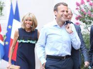 Brigitte et Emmanuel Macron : Soirée complice avec Theresa May à Brégançon