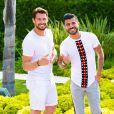 """Rémi Notta et Thomas, candidats des """"Vacances des Anges 3"""" sur NRJ12, photo officielle"""