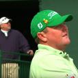 Le golfeur australien Jarrod Lyle est mort à l'âge de 36 ans le 9 août 2018 des suites d'un cancer. Il laisse une femme, Briony, et deux filles de 6 et 2 ans, Lusi et Jemma. Image d'une vidéo hommage de la Fédération australienne de golf.