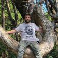 Laurent Ournac en vacances au Canada - Instagram, 5 août 2018