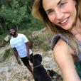 Ariane Brodier et son compagnon - Instagram, 13 juillet 2018