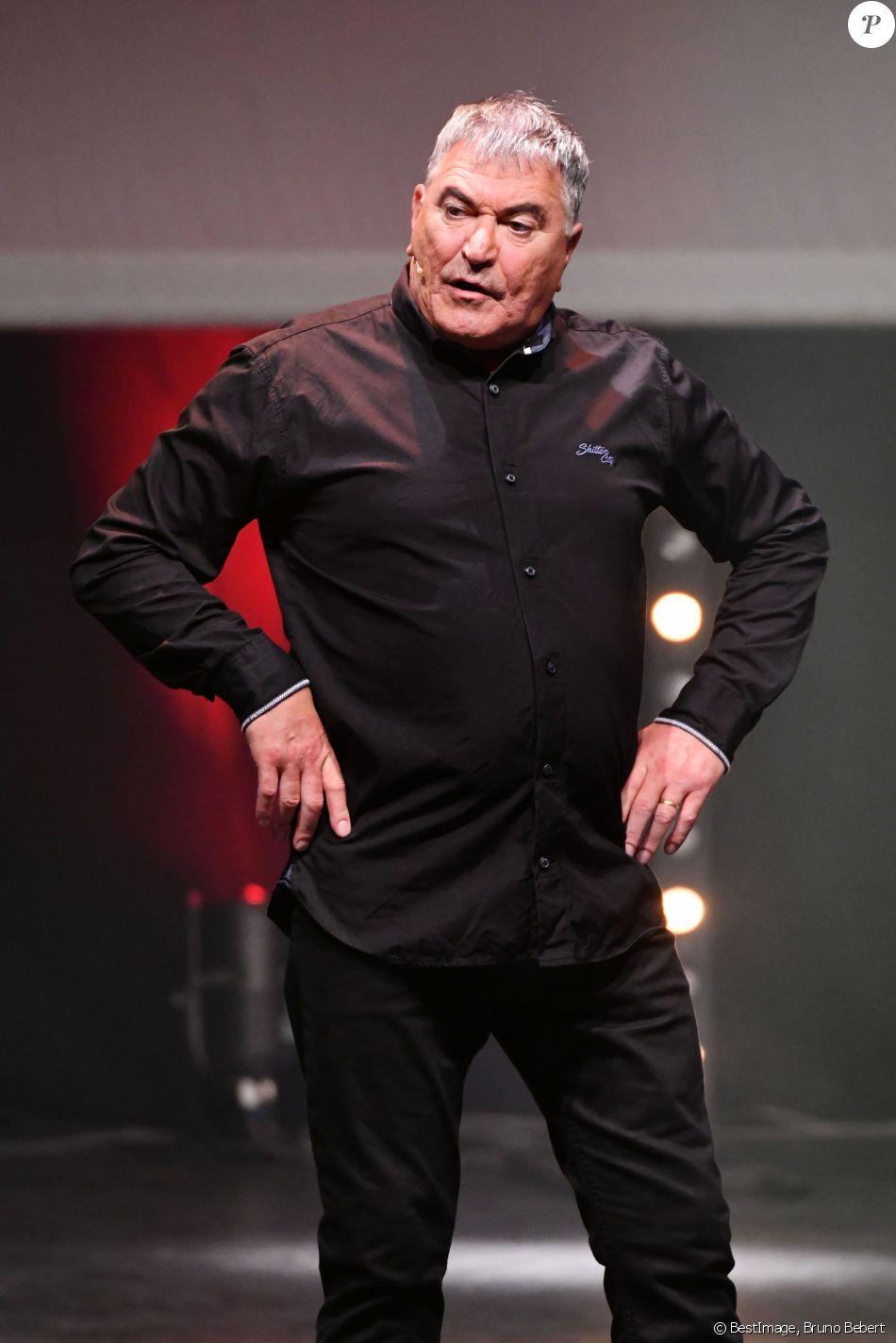 Jean Marie Bigard, l'humoriste français, au Festival des Plages du Rire à Nice le 10 juillet 2018. © Bruno Bebert / Bestimage