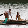 Katharine McPhee et Dave Annable en plein tournage à Maui