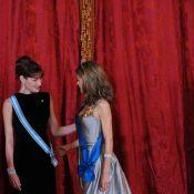 Carla Bruni et Letizia d'Espagne : second round du meilleur look... robes longues superbes et élégance époustouflante !