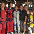 René-Charles Angélil s'est offert un saut en parachute au Canada, le 5 août 2018