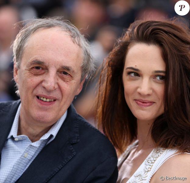 Asia Argento et son père Dario Argento à Cannes en mai 2012.