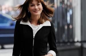 Carla Bruni : encore et toujours... engagée ! Elle a signé des accords à Madrid pour sa Fondation !