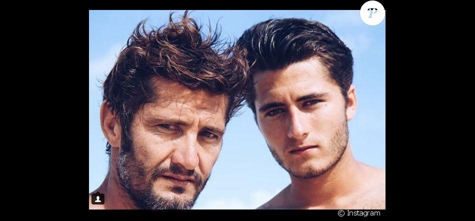 Bixente Lizarazu et son fils Tximista sur Instagram le 21 avril 2016.