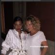 Tina Kunakey a posté une photo où elle apparaît au côté de la photographe Cécilia Thibier sur Instagram le 23 août 2018, veille de son mariage avec Vincent Cassel.