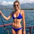 Alexandra Rosenfeld (Miss France 2006) en vacances en Corse - Instagram, 10 juillet 2018