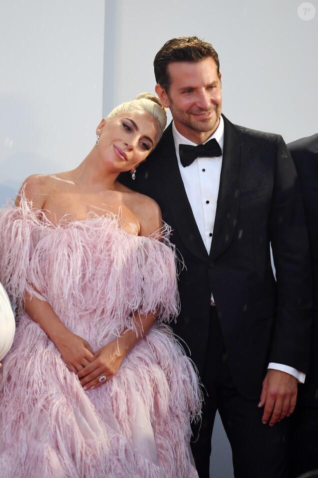 """Lady Gaga et Bradley Cooper - Première du film """"A Star Is Born"""" lors du 75ème festival de Venise, La Mostra le 31 aout 2018."""