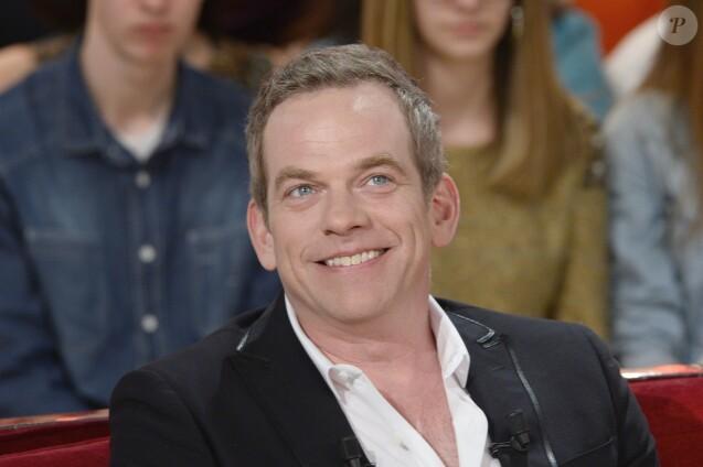 """Garou - Enregistrement de l'émission """"Vivement Dimanche"""" à Paris le 14 mars 2014. L'émission sera diffusée ce dimanche 16 Mars."""