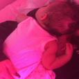 La petite Stormi, de retour sur le Snapchat de sa mère Kylie Jenner, ce 30 juin 2018.