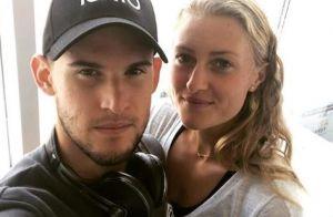 Kristina Mladenovic : Ses mots d'amour à Dominic Thiem, battu à l'US Open