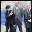 Rachida Dati au mariage de Jean de France et de Philomena de Tornos y Steinhart. 02/05/09