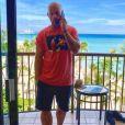 Franck Gastambide en vacances à Hawaï le 22 août 2018.