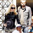 Madonna et David, à la sortie du centre de la Kabbale de New York, le 2 mai 2009 !