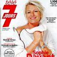La couverture du magazine Télé 7 Jours. Septembre 2018.