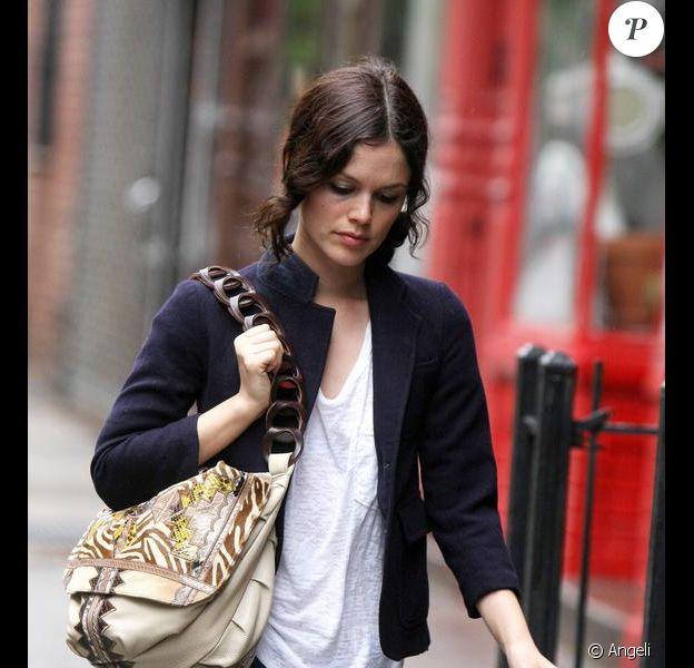 Rachel Bilson à New York, le 1er mai 2009