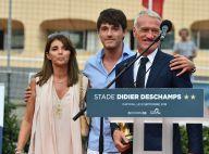 """Didier Deschamps complice avec sa femme et son fils pour un moment """"d'émotion"""""""