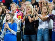 Coupe Davis : Yannick Noah et ses joueurs victorieux, leurs femmes en liesse