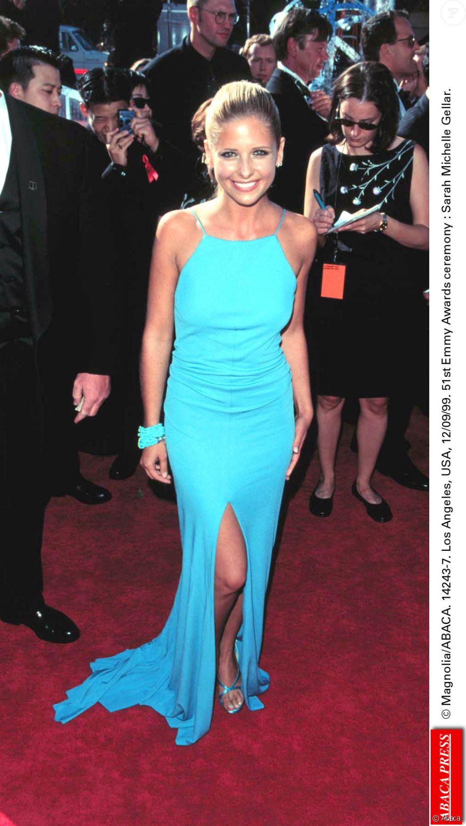 Sarah Michelle Gellar à la 51e cérémonie des Emmy Awards, le 12 septembre 1999 à Los Angeles