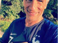 """Nagui : Après s'être fait """"déchirer"""" pour son maillot des Bleus, il s'explique"""