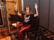 """Céline Dion : """"Emballée"""", elle change de tête alors qu'elle revient en studio"""