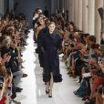 """Gigi Hadid - Défilé Max Mara """"Collection Prêt-à-Porter Printemps/Eté 2019"""" lors de la Fashion Week de Milan (MLFW), le 20 septembre 2018."""