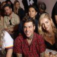 """Chiara Ferragni et son mari Fedez - Défilé Backstage Fendi """"Collection Prêt-à-Porter Printemps/Eté 2019"""" lors de la Fashion Week de Milan (MLFW), le 20 septembre 2018."""