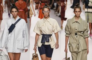 Fashion Week : Kendall, Gigi et Bella, Kaia, superstars à Milan