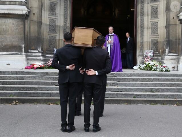 Illustration - Obsèques du comédien Jean Piat en l'église Saint François-Xavier à Paris le 21 septembre 2018.