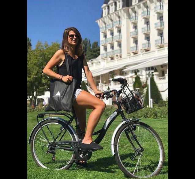 """Clémentine de """"Koh-Lanta"""" à Annecy - Instagram, 24 août 2018"""