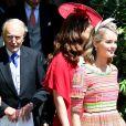 Cressida Bonas au mariage de son ex-boyfriend le prince Harry et de Meghan Markle le 19 mai 2018 à Windsor.