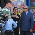 "Al Pacino sur le tournage du film ""Once Upon A Time in Hollywood"" de Quentin Tarantino, à Los Angeles le 24 juillet 2018."
