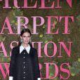 Bianca Balti lors de la soirée des Green Carpet Fashion Awards au théâtre La Scala à Milan, Italie, le 23 septembre 2018.