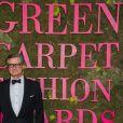 Colin Firth lors de la soirée des Green Carpet Fashion Awards au théâtre La Scala à Milan, Italie, le 23 septembre 2018.