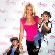 """Britney Spears, ici avec ses enfants Sean preston et Jayden"""