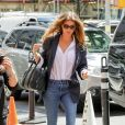 Gisele Bundchen arrive à l'hôtel The Mark à New York, le 7 mai 2018.