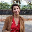"""Isabelle Gélinas - Sortie des people de l'enregistrement de l'émission """"Vivement Dimanche"""" à Paris le 19 septembre 2018."""
