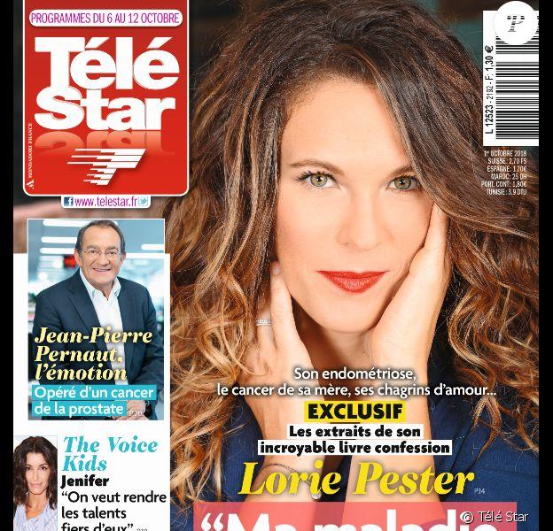 """Couverture de """"Télé Star"""" du 1er octobre 2018."""