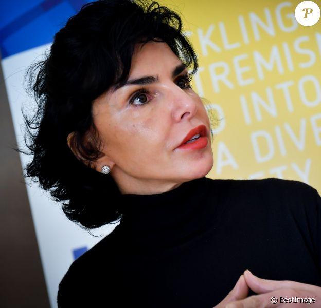 Exclusif - Rachida Dati - Conseil européen sur la tolérance et la réconciliation à Monaco le 6 mars 2018. © Michael Alesi/Bestimage