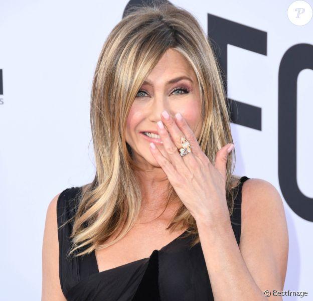 """Jennifer Aniston - People à la soirée annuelle """"AFI Life Achievement Award"""" à Los Angeles. Le 7 juin 2018."""