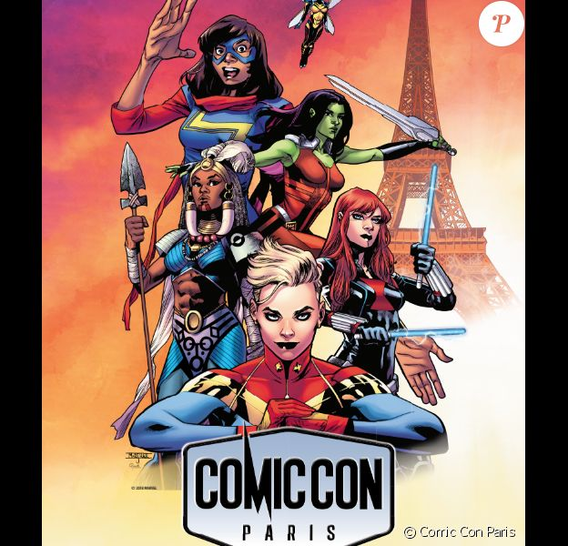 Affiche du Comic Con Paris2018