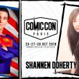 Visuel des invités du Comic-Con Paris 2018.