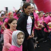 Marine Lorphelin : Matinale et sportive, elle marche contre le cancer du sein